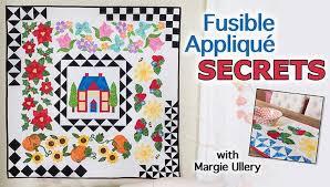 Fusible Appliqué Secrets Quilting Class | Craftsy & Preview Adamdwight.com