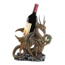 Decorative Wine Bottle Holders Dragon Wine Holder Animal Single Wine Bottle Holder Made Of 31