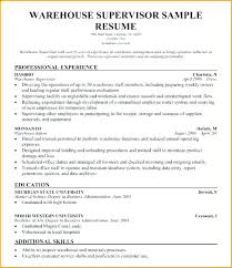 Warehouse Manager Resume Warehouse Manager Resume Examples Warehouse ...