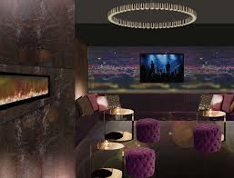 creative lighting concepts. VIP Room With Textured Copper Feature Walls And Stunning Pendant Light Creative Lighting Concepts