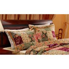 king size pillow shams greenland home fashions antique chic king size pillow shams set of