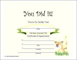 Congratulations Certificates Templates Congratulations Certificate Word Template Printable