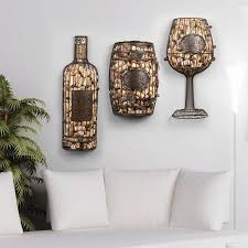 Wine Bottle Holder Wall Decor