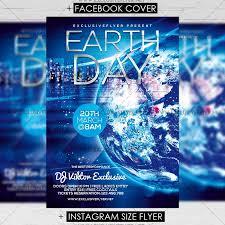 Earth Day Celebration Premium Flyer Template