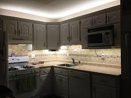 under shelf lighting led. Accessories Kitchen | : Modern With LED Under Cabinet Lighting Mosaic Backsplash Also Shelf Led C