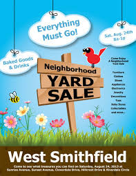 030 Template Ideas Best Yard Sale Flyer Templates Amp Psd