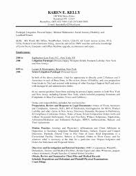 Lawyer Resume Template New Paralegal Job Description Resume Samples