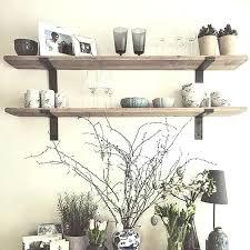 shabby chic lipped bracket shelf depth shelves wall uk