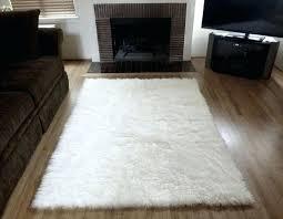 large sheepskin rug ikea target faux sheepskin rug large black fur cushion stunning interior