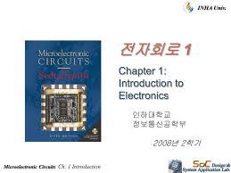 Microelectronic Circuits Microelectronic Circuits Ch 1 Introduction Inha Univ