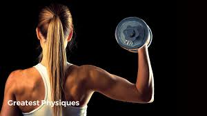 female weight lifting routine