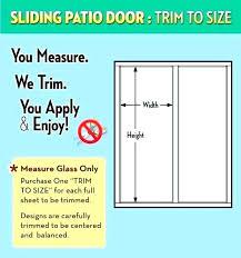 patio door sizes sliding glass door dimensions patio door measuring doent