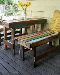 Patio Furniture Ideas Benches Swings Chaises  Bombay OutdoorsOutdoor Furniture Recycled