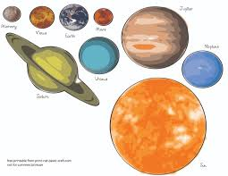 Small Picture Free Printables Planets Free Printable Solar System Model for