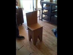 cardboard chair design with legs. Design A Cardboard Chair With Legs
