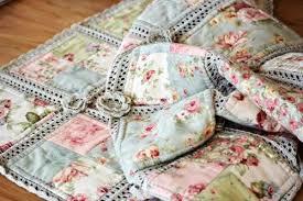 Cotton Yarn Crochet And Fabric Quilt – Pretty Shabby – Quilting Cubby & cotton yarn crochet and fabric quilt Adamdwight.com
