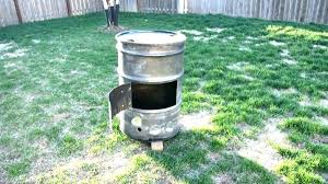 drum fire pit washer tub barrel gallon smoker project diy dryer