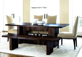 Dining Room Tables With A Bench New Inspiration