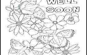 Get Well Soon Coloring Cards Pages Image Religious For Fathers Day