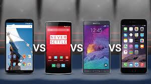 one plus one size nexus 6 vs oneplus one vs samsung note 4 vs iphone 6 plus phablet
