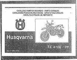 husqvarna parts manual book 1999 te 610