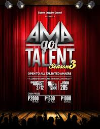 Talent Show Poster Designs Talent Show Poster Designs Rome Fontanacountryinn Com