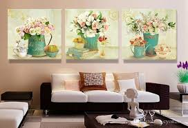 bedroom wall art canvas. Wonderful Bedroom 2018 Home Decor Canvas Prints Vintage Flower Wall Art Painting  Pictures For Living Room No Frame From Cyon2017  Throughout Bedroom