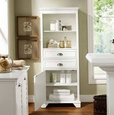 Tall Bathroom Storage Cabinets Home Design Ideas