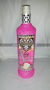 Decorative Liquor Bottles For Gift click picture for how to mod podge on some rhinestones and glitter 2