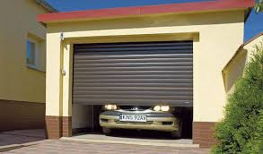 rollup garage doorRollup garage doors  aluminum  automatic  WISNIOWSKI