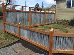 metal fence panels home depot. Corrugated Metal Fence Panels Home Depot With Well Made Wooden Wellmade Decorating Doors And Design T