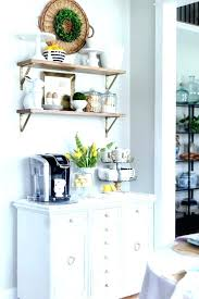 kitchen coffee station cabinet decor ideas bar decoration wall kit cor with nook cottage home