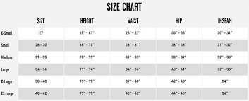 Dc Snow Pants Size Chart Up To Date Snowboarding Pants Size Chart Snowboard Fitting