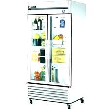 fridge with glass door commercial refrigerator front doors