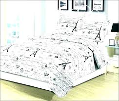 girls paris bedding sets themed comforter set twin bedroom awesome curtains for bed home improvement wilson