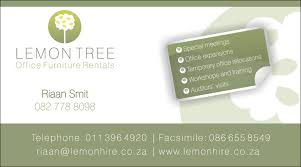 business card office lemon tree office furniture hire business card kangaroo digital