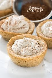 tiramisu cookie cups these easy from scratch sugar cookie cups are filled with my favorite