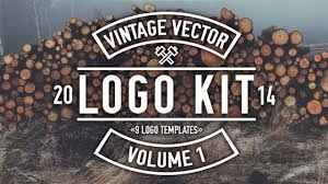 Vintage Logo Vector Vintage Vector Logo Kit Overview And How To Youtube