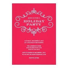 Formal Christmas Party Invitations Holiday Party Invitation Rhymes Tinajoathome