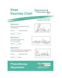 46 Printable Exercise Charts 100 Free Template Lab