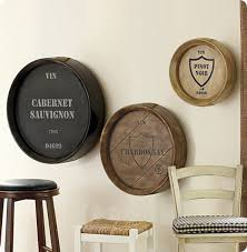 pottery barn wine barrel wall art wine barrel plaques on wine bar wall art with pottery barn wine barrel wall art wine barrel plaques cocktails