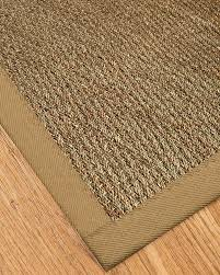 naturalarearugs mayfair collection natural seagrass fiber area rug handmade in usa 100 seagrass non