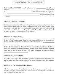 This is your standard and free commercial lease agreement template, with all the important legal clauses you need. Free Texas Commercial Lease Agreement Pdf Template Form Download
