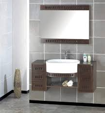 decoration wall mounted bathroom sinks details superb design of the grey bathroom wall tile ideas with brown wooden c