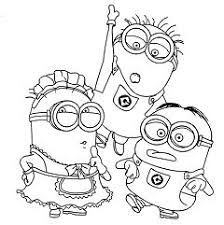 Cute Minion Wallpapers Coloring Page Free Coloring Pages Online