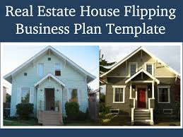 Investor Friendly Templates   Black Box Business PlansReal Estate House Flipping Business Plan