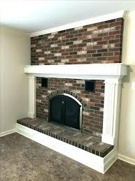 painted brick fireplace ideas paint brick fireplace ideas trim around fireplace the best update brick fireplace