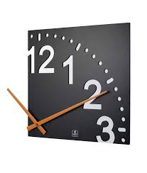 digital office wall clocks digital. Cool Clocks Are In The Office Too! INFINITY WOODEN WALL CLOCK   Modern Design Digital Wall