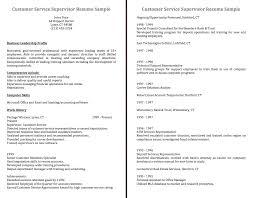 Customer Service Supervisor Resume Sample Cover Letter For Customer Service Supervisor Images Cover Letter 22