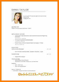 18 Cv English Example Pdf Waa Mood